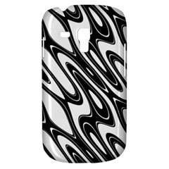Black And White Wave Abstract Galaxy S3 Mini