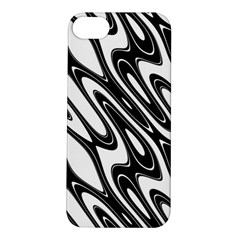 Black And White Wave Abstract Apple Iphone 5s/ Se Hardshell Case