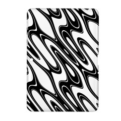 Black And White Wave Abstract Samsung Galaxy Tab 2 (10 1 ) P5100 Hardshell Case