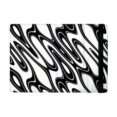 Black And White Wave Abstract Ipad Mini 2 Flip Cases