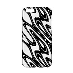 Black And White Wave Abstract Apple Iphone 6/6s Hardshell Case