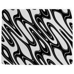 Black And White Wave Abstract Jigsaw Puzzle Photo Stand (rectangular)