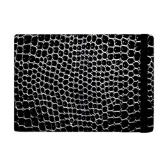 Black White Crocodile Background Apple Ipad Mini Flip Case