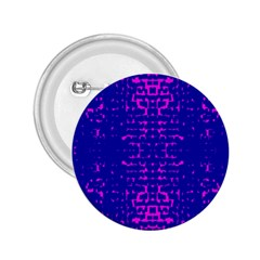 Blue And Pink Pixel Pattern 2 25  Buttons