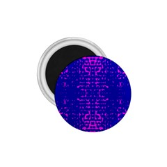 Blue And Pink Pixel Pattern 1 75  Magnets