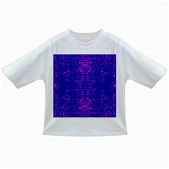 Blue And Pink Pixel Pattern Infant/toddler T Shirts