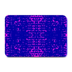 Blue And Pink Pixel Pattern Plate Mats
