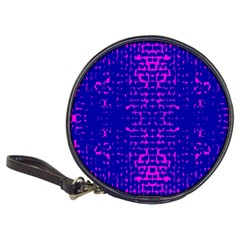 Blue And Pink Pixel Pattern Classic 20-CD Wallets