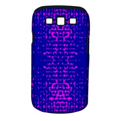 Blue And Pink Pixel Pattern Samsung Galaxy S Iii Classic Hardshell Case (pc+silicone)