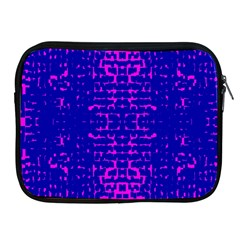 Blue And Pink Pixel Pattern Apple Ipad 2/3/4 Zipper Cases