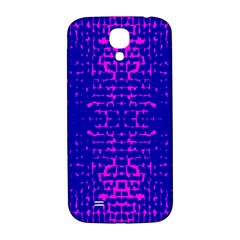 Blue And Pink Pixel Pattern Samsung Galaxy S4 I9500/i9505  Hardshell Back Case