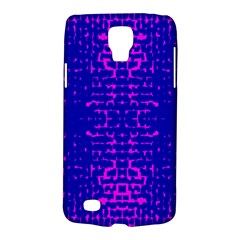 Blue And Pink Pixel Pattern Galaxy S4 Active