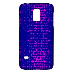 Blue And Pink Pixel Pattern Galaxy S5 Mini