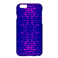 Blue And Pink Pixel Pattern Apple Iphone 6 Plus/6s Plus Hardshell Case