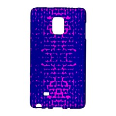 Blue And Pink Pixel Pattern Galaxy Note Edge