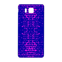 Blue And Pink Pixel Pattern Samsung Galaxy Alpha Hardshell Back Case