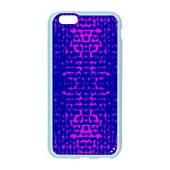 Blue And Pink Pixel Pattern Apple Seamless iPhone 6/6S Case (Color)