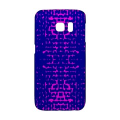 Blue And Pink Pixel Pattern Galaxy S6 Edge