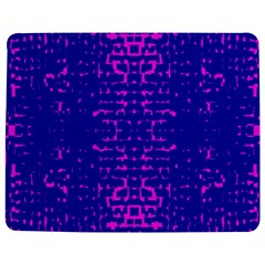 Blue And Pink Pixel Pattern Jigsaw Puzzle Photo Stand (rectangular)