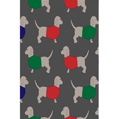 Cute Dachshund Dogs Wearing Jumpers Wallpaper Pattern Background 5 5  X 8 5  Notebooks