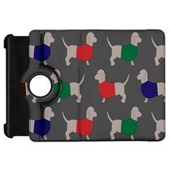Cute Dachshund Dogs Wearing Jumpers Wallpaper Pattern Background Kindle Fire Hd 7