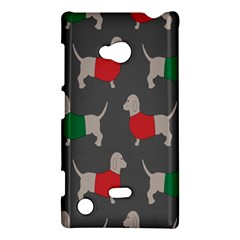 Cute Dachshund Dogs Wearing Jumpers Wallpaper Pattern Background Nokia Lumia 720