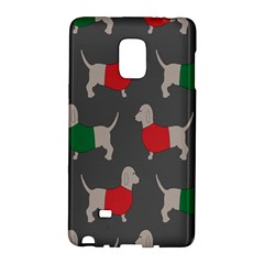 Cute Dachshund Dogs Wearing Jumpers Wallpaper Pattern Background Galaxy Note Edge