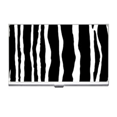 Zebra Background Pattern Business Card Holders