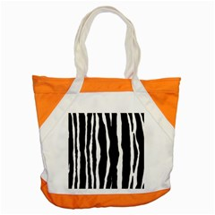 Zebra Background Pattern Accent Tote Bag