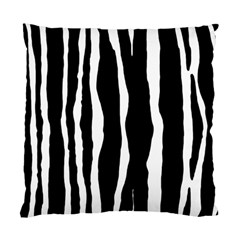 Zebra Background Pattern Standard Cushion Case (two Sides)
