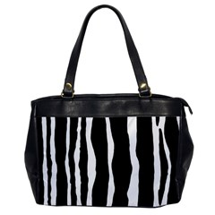 Zebra Background Pattern Office Handbags