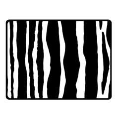 Zebra Background Pattern Fleece Blanket (small)