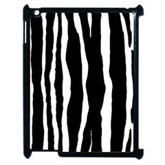 Zebra Background Pattern Apple Ipad 2 Case (black)