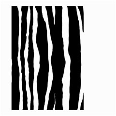 Zebra Background Pattern Small Garden Flag (two Sides)