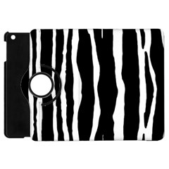 Zebra Background Pattern Apple iPad Mini Flip 360 Case