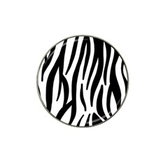 Seamless Zebra A Completely Zebra Skin Background Pattern Hat Clip Ball Marker (10 Pack)