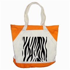 Seamless Zebra A Completely Zebra Skin Background Pattern Accent Tote Bag
