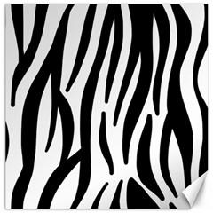 Seamless Zebra A Completely Zebra Skin Background Pattern Canvas 12  X 12