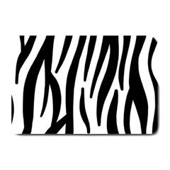 Seamless Zebra A Completely Zebra Skin Background Pattern Plate Mats