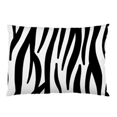 Seamless Zebra A Completely Zebra Skin Background Pattern Pillow Case