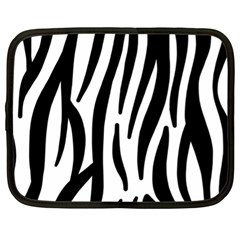 Seamless Zebra A Completely Zebra Skin Background Pattern Netbook Case (XL)