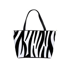 Seamless Zebra A Completely Zebra Skin Background Pattern Shoulder Handbags