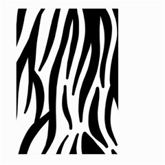 Seamless Zebra A Completely Zebra Skin Background Pattern Large Garden Flag (two Sides)