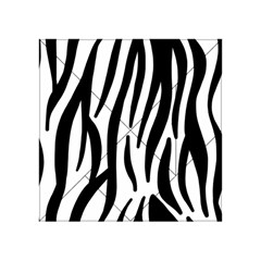 Seamless Zebra A Completely Zebra Skin Background Pattern Acrylic Tangram Puzzle (4  X 4 )