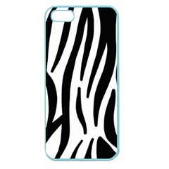 Seamless Zebra A Completely Zebra Skin Background Pattern Apple Seamless Iphone 5 Case (color)
