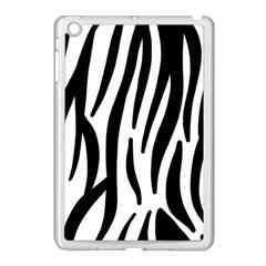 Seamless Zebra A Completely Zebra Skin Background Pattern Apple Ipad Mini Case (white)