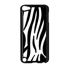Seamless Zebra A Completely Zebra Skin Background Pattern Apple Ipod Touch 5 Case (black)