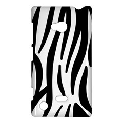 Seamless Zebra A Completely Zebra Skin Background Pattern Nokia Lumia 720