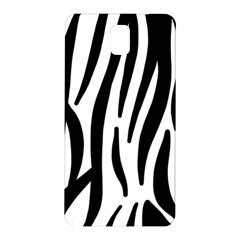 Seamless Zebra A Completely Zebra Skin Background Pattern Samsung Galaxy Note 3 N9005 Hardshell Back Case