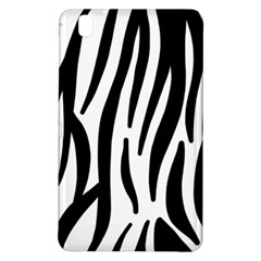 Seamless Zebra A Completely Zebra Skin Background Pattern Samsung Galaxy Tab Pro 8 4 Hardshell Case